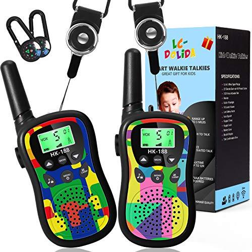 Toys for 3-12 Year Old Boys Girls , Walkie Talkies for Kids 5KM Long Range...