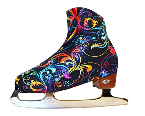 Ice Skate Boot Covers (Pretty Blossom)