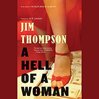 A Hell of a Woman audiobook cover art