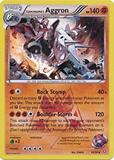 Pokemon - Team Magma39;s Aggron (14/34) - Double Crisis - Holo