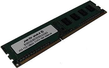 2GB Memory Upgrade for Gigabyte GA-Z77-HD3 Motherboard DDR3 PC3-12800 1600 MHz Non-ECC DIMM RAM (PARTS-QUICK Brand)