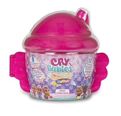 IMC Toys Cry Babies Magic Tears Casetta Alata, 90378, (assortito)