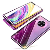 Jonwelsy Case for Huawei Mate 30 Pro, Magnetic Adsorption