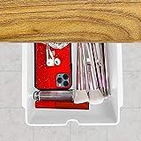 Xnuoyo Organizador cajones escritorio Organizador debajo del escritorio Caja Bolígrafos...