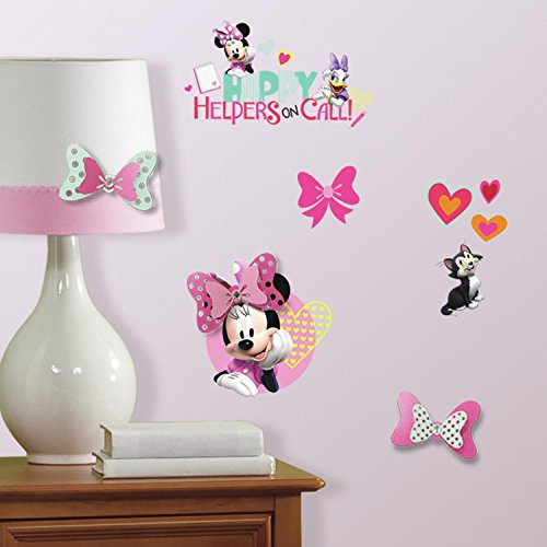 RoomMates 9 Stickers Minnie Mouse 3D Disney