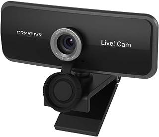 Creative Live! Cam Sync 1080p テレワーク オンライン帰省 対プライバシーレンズカバー デュアル マイク内蔵 フルHD ワイドアングルウェブカメラ LC-SYN1080