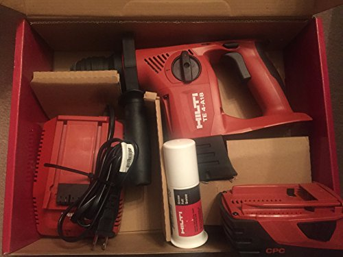 Hilti TE 4-18A 18V Rotary Hammer Drill-Performance Package