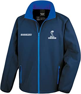 Official Licensed Carroll Shelby Softshell Race Jacket