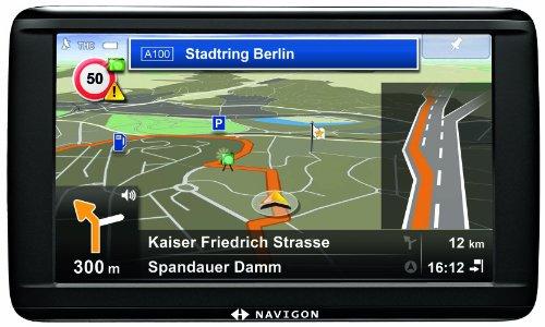 Navigon 72 Easy Navigationssystem (12,7cm (5 Zoll) Touchscreen Display, Europa 20, TMC, Navigon Flow, Aktiver Fahrspurassistent, Reality View Pro)
