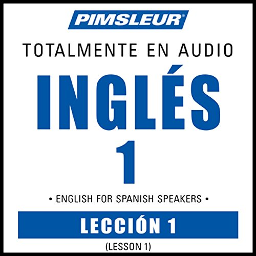 ESL Spanish Phase 1, Unit 01 audiobook cover art