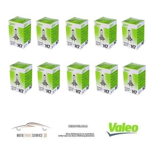 VALEO 032009 Lot de 10 ampoules H7 pour phare