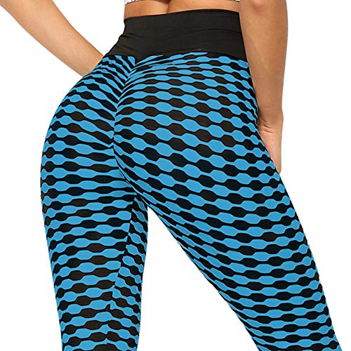 bayrick Caliente en Europa y América,Pantalones de Yoga de Flora a Rayas Deportes Casual Fitness Leggings-B_S