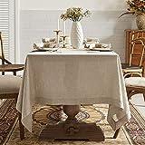 DAPU Pure Linen Tablecloth 100% ...