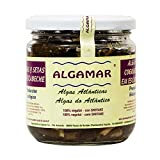 Guarnición de algas y setas en escabeche Algamar 265 gr