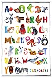 Close Up Das ABC Premium Poster für Kinder, Alphabet