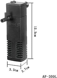 yagaga Internal Aquarium Filter Water Pump with Spray Bar Filtration Durable for Fish Tank