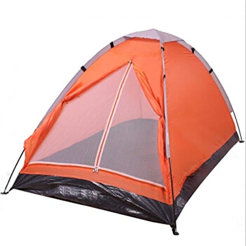 INTER FAST Outdoor Double Single Layer Camping 2 Double Plage Loisirs Outdoor Outdoor Moustique Vent Pluie Prougeection Solaire Tente Camping Extérieur Tente