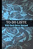 To-Do List With Check Boxes Notepad: Large To-Do List Notebook with Checkboxes for Daily Tasks and Staying Organized