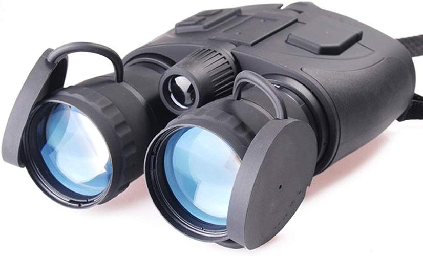 WANGMOO Jumelles infrarouges de Vision Nocturne Zoom Complet Jumelles 5X pour télescope