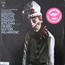 Stravinsky: Bernstein Conducts Petrushka / Firebird, New York Philharmonic , Special Bonus: Leonard Bernstein discusses Stravinsky and his Petrushka Ballet (2 Record Set)