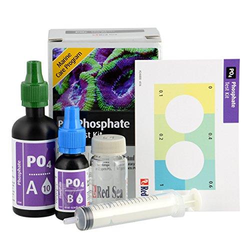 Red Sea MCP Phosphate (PO4) Test Kit - Saltwater Aquariums, Packing may vary