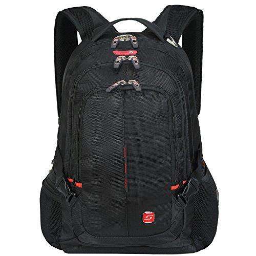 """Winkee SA9393 Zaino per computer portatile fino a 15,6"""" Nero"""