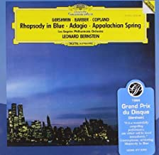 Gershwin/Copland/Barber: Rhapsody In Blue, Appalachian Spring, Adagio by Bernstein/Los Angeles Philharmonic Orch. (2007-06...