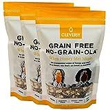 NO-GRAIN-OLA - Grain Free Granola | Paleo Friendly Healthy Snacks | Natural, Dairy Free, Soy Free, No Refined Sugars, Non GMO - When Honey Met Maple (8oz bags, 3 Bags Per Pack)