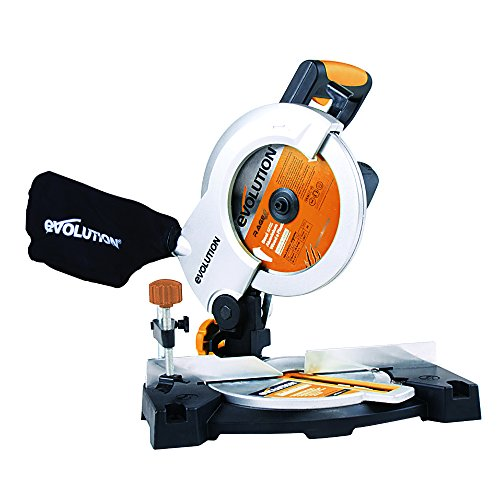 Evolution RAGE3-B Multi-Purpose Compound Mitre Saw, 210 mm (110V)