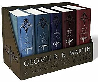 NaNa New George R. R. Martins a Game of Thrones Leather-Cloth Boxed Set (Song of Ice.. by TrustyTrade