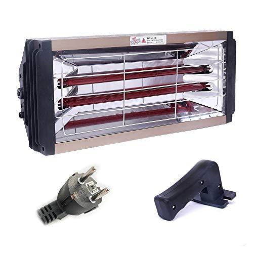 Grinning 2000W Autolacklampe Möbellacklampe Handlacklampe Mit 1-Stunden-Timerfunktion Kann Auch Für Hausheizung, Autofenster-Defogging Verwendet Werden