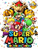 Super Mario Coloring Book: 50+ Illustrations Mario Brothers Coloring Books for Kids