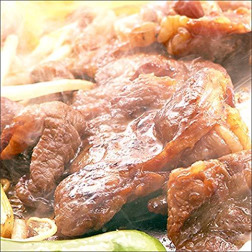 ジンギスカン 味付きジンギスカン 食べ比べ 2kg (ラム醤油1kg/ラム塩1kg) 業務用 羊肉 BBQ 北海道 じんぎすかん 千歳ラム工房 肉の山本