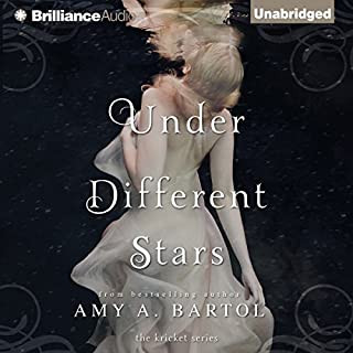 Under Different Stars     The Kricket, Book 1              By:                                                                                                                                 Amy A. Bartol                               Narrated by:                                                                                                                                 Kate Rudd                      Length: 9 hrs and 53 mins     2,741 ratings     Overall 4.4