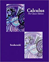 Calculus: The Classic Edition (Thomson Advantage Books) by Earl W. Swokowski (2000-06-16)