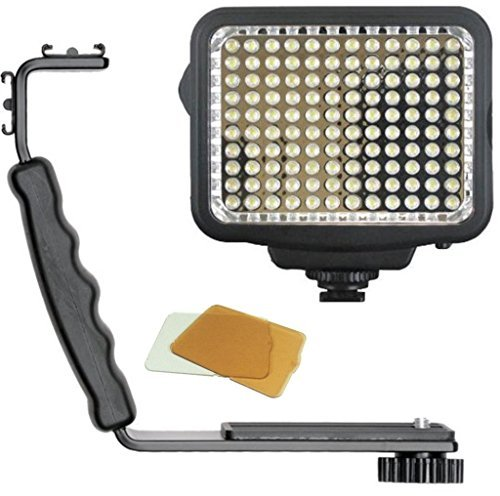 33rd Street Camera LED Light Panel for Canon T6i, T6s, SL1