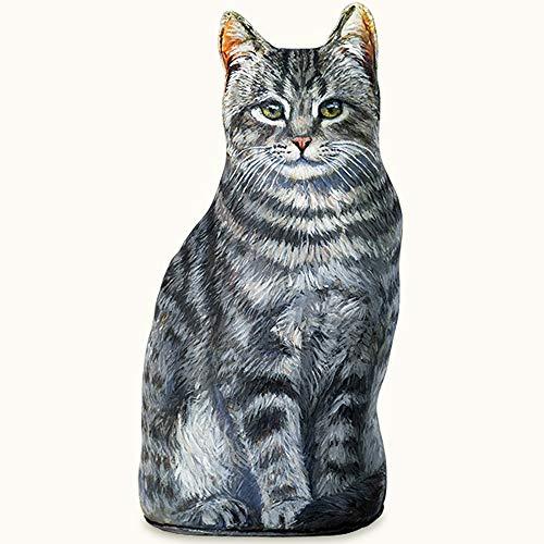 DOORSTOPS - Smoky Gray CAT Doorstop - CAT Door Stopper