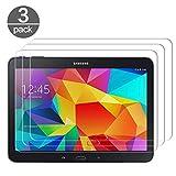 3X Verre Trempé Compatible avec Samsung Galaxy Tab 4 10.1 SM-T530 T531, Film Protection d'écran en...