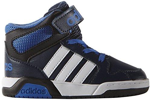 adidas Unisex-Baby BB9TIS INF Sneaker, Azul Maruni Ftwbla Azul, 22 EU