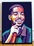 Kid Cudi Limited Poster Artwork - Professional Wall Art Merchandise (More (8x10)