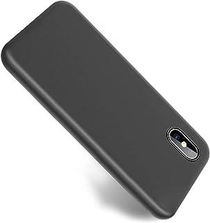 Wsky iPhone XS Max ケース 衝撃吸収 防水 薄 軽 高級感 TPU材質 すり傷つ止め 手触り良い 指紋防止 アイフォン カバー ワイヤレス充電対応 ミニマリスト (ブラック)