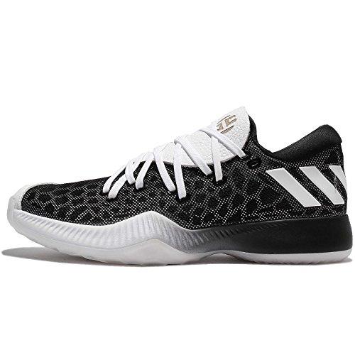 adidas Unisex Harden B/E Basketballschuhe, Schwarz (Negbas/Ftwbla/Negbas), 47 1/3 EU