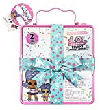 LOL Surprise Deluxe Present Surprise Series 2 Slumber Party Theme with Exclusive Doll & Lil Sister