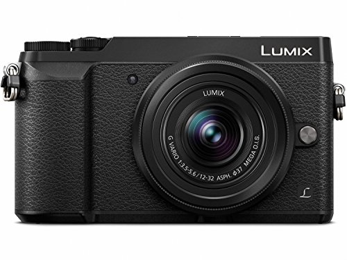 PANASONIC LUMIX GX85 Camera with 12-32mm Lens, 4K,...
