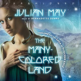 The Many-Colored Land audiobook cover art