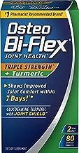 Osteo Bi-Flex Joint Health Turmeric Plus Triple Strength Tablets, 80 Ea (pack of 6)