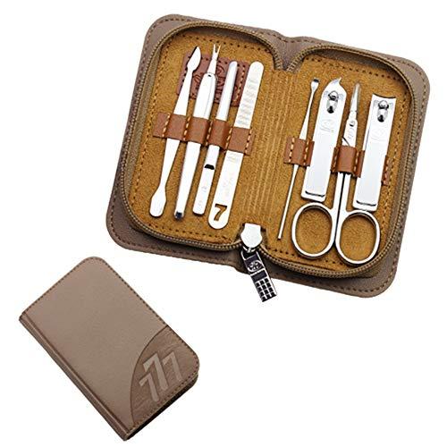 NNNQO Finger & Toe Nagelpflege-Das Ultimative Maniküre-Set Für Herren Reise/Set Maniküre Nagelknipser Pediküre Set Tragbares Hygieneset Nagelknipser Portable Set