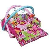 Palestrina Neonati Baby Gym Stimola Lo Sviluppo del Neonato, Attività Ludiche Sensoriali, Tappetino e Giochi Imbottiti e Lavabili per la Sicurezza dei Bambini, Standard EN71 Europeo