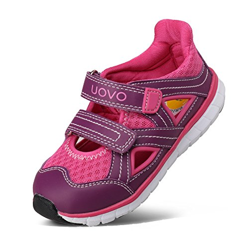 UOVO Kids Sport Sandals Outdoor Running Shoes Boys Girls Breathable Casual Sneakers (Toddler/Little Kid/Big Kid)