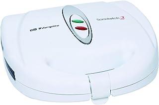 Orbegozo SW5000 - Sandwichera, 2 cavidades, inox